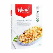 Waah<br />Organic Vegetable Biryani 265g
