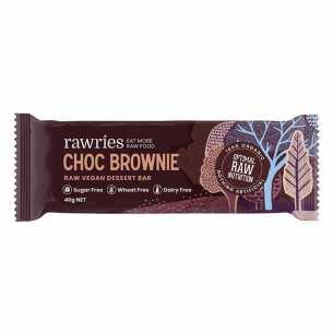Raw Vegan Dessert Bar - Choc Brownie
