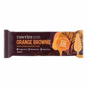 Raw Vegan Dessert Bar - Orange Brownie - Clearance