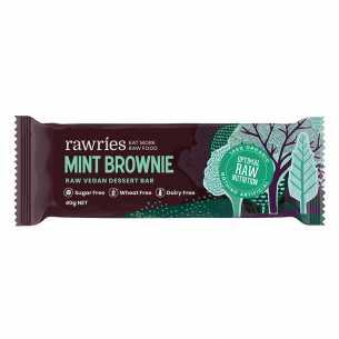 Raw Vegan Dessert Bar - Mint Brownie