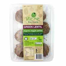 Green Lentil Organic Veggie Pattie