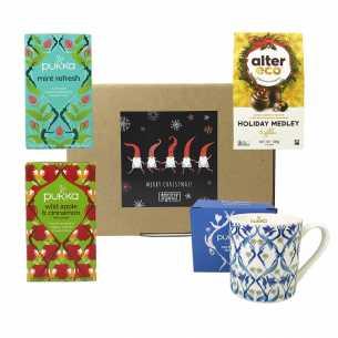 Tea and Chocolate Christmas Hamper