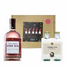 Antipodes Pink Gin and Tonic Christmas Hamper
