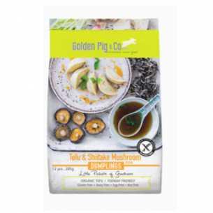 Gourmet Dumplings - Tofu and Shiitake Mushroom