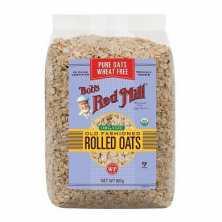 Organic Regular Rolled Oats Pure Wheat Free