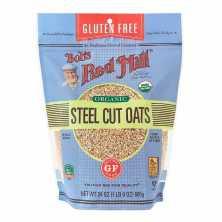 Organic Steel Cut Oats Pure Wheat Free