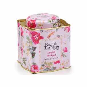 English Breakfast Tea Floral Gift Tin