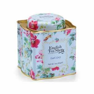 Earl Grey Tea Floral Gift Tin