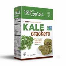 R.W Garcia<br />3 Seed Kale Crackers 184g