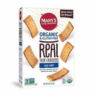 Real Thin Crackers Sea Salt