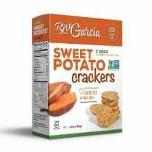 R.W Garcia<br />3 Seed Sweet Potato Crackers 184g