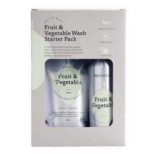 Natural Fruit and Vegetable Wash Starter Kit