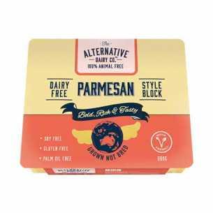 Block Style Parmesan Vegan