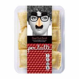 Roast Duck Ravioli
