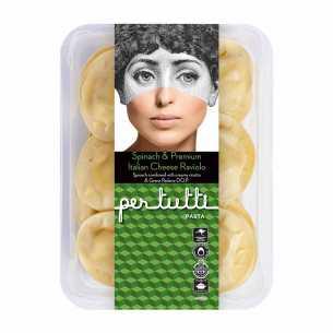 Spinach and Premium Italian Cheese Raviolo