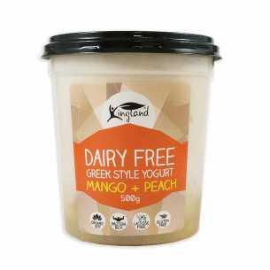 Greek Yoghurt Mango and Peach Vegan - Clearance