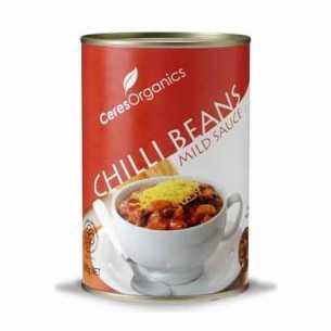 Chilli Beans in Mild Sauce