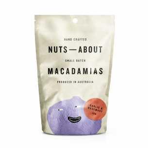 Macadamias Garlic and Rosemary
