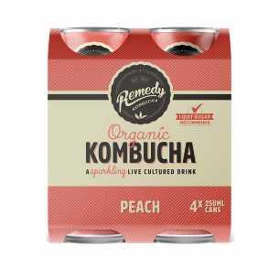 Peach Kombucha CAN