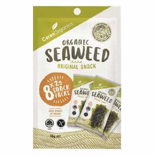 Roasted Seaweed Snack Sea Salt Multipack