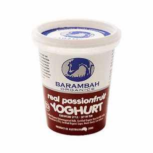 Passionfruit Yoghurt