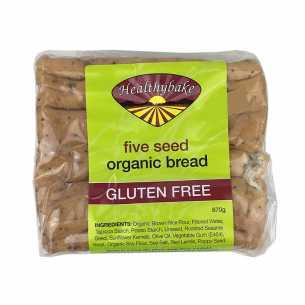 5 Seed Organic Gluten Free Bread