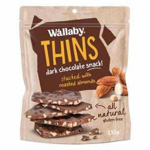 Dark Chocolate Almond Thins