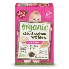 Chia and Quinoa Wafer