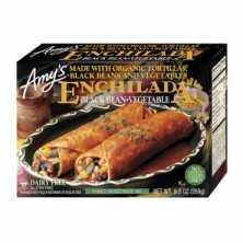 Black Bean and Vegetable Enchilada
