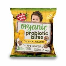Probiotic Bites Tropical Orange