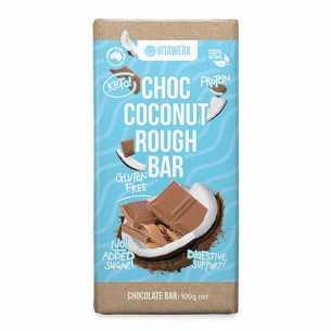 Milk Chocolate Coconut Rough Bar