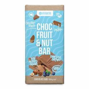 Milk Chocolate Fruit and Nut Bar