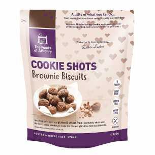 Brownie Biscuit Cookie Shots