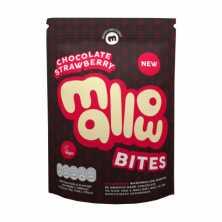 Chocolate Coated Strawberry Mallow Bites