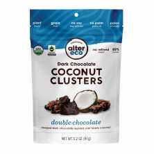 Dark Chocolate Coconut Clusters Double Chocolate