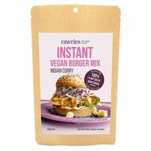 Instant Burger Mix Indian Curry Vegan