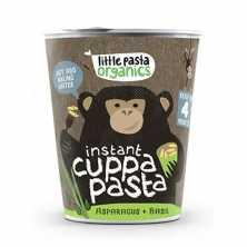 Kids Pasta Pots - Asparagus and Basil Pesto