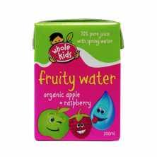 Organic Fruity Water - Apple and Raspberry