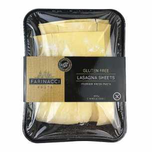 Gluten Free Lasagne Sheets