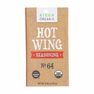 Organic Hot Wings Seasoning