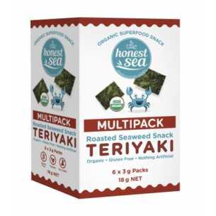 Organic Seaweed Snacks Teriyaki Multipack