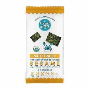 Organic Seaweed Snacks Sesame Multipack