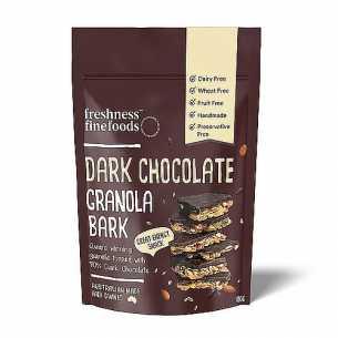 Dark Chocolate Granola Bark