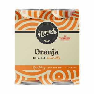 Oranja Soda CANS