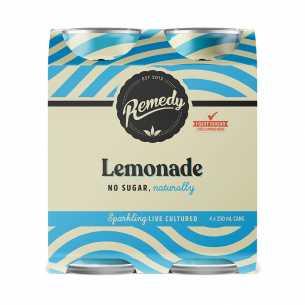 Lemonade Soda CANS