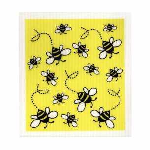 Dish Cloth - Bees