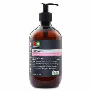 Body Wash Rose Geranium Marshmallow