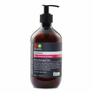 Shampoo Rose Geranium and Argan - Dry