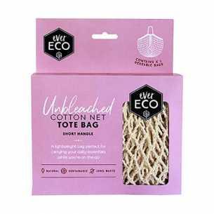 Tote Bag - Cotton Net Short Handle<br>