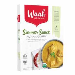 Organic Simmer Sauce Korma Curry